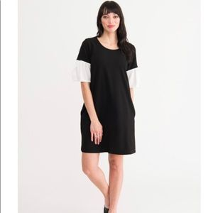Shift Dress Black with White by Agnes & Dora NWT